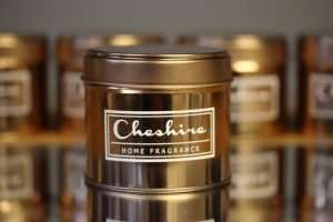 Rose Gold Tin Single Wick Candles