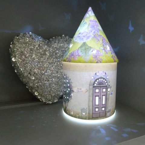 Fairy Houses - Light up /Night Light